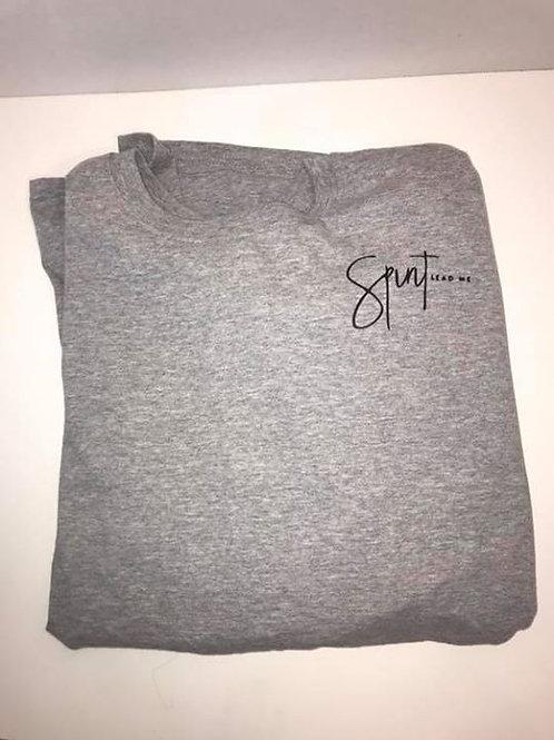 """Spirit Lead Me"" Sport Grey Long Sleeve T-Shirt"
