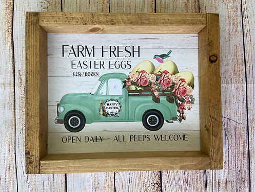 Farm fresh Easter eggs