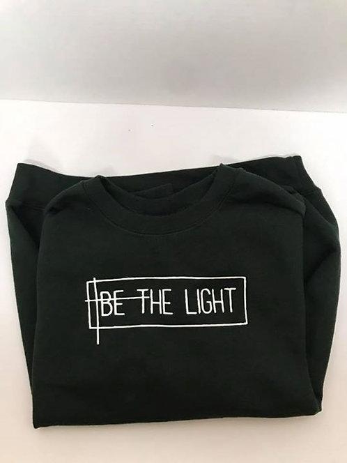 """Be the Light"" Forest Crewneck Sweatshirt"