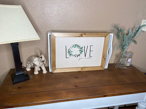 Love you more (wreath)