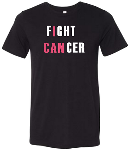 """fIght CANcer"" Black"