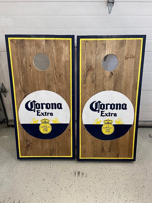 Corona Extra cornhole boards