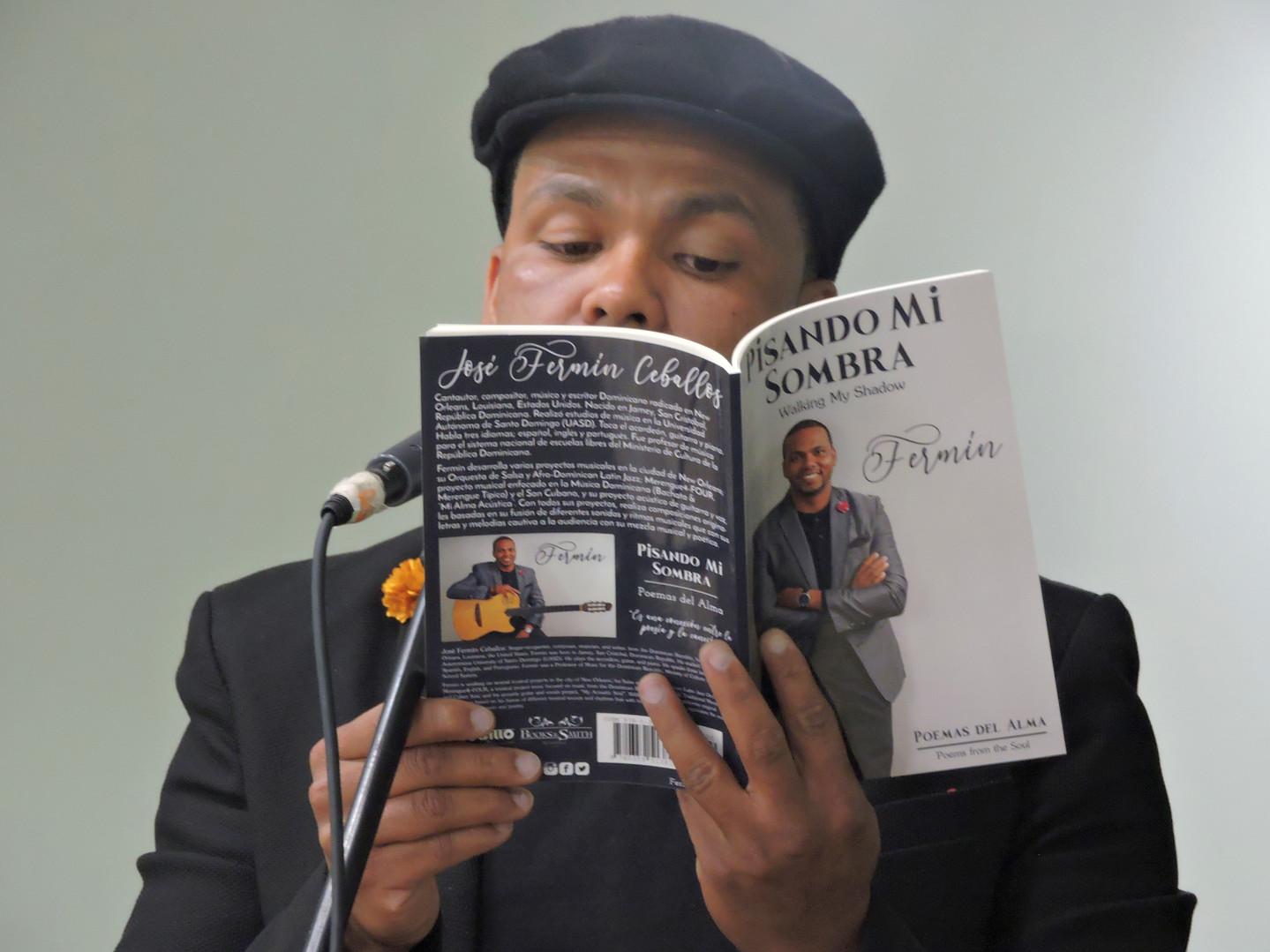 """""""Pisando Mi Sombra"""" Poetry Book Release NYC 2019"""
