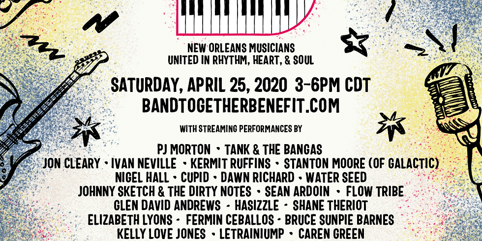 Band Together Benefit | New Orleans