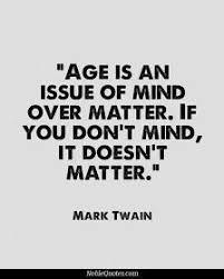 Op leeftijd staat geen leeftijd.