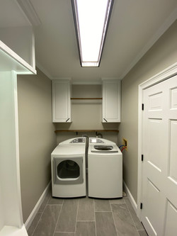New Updated laundry and mudroom