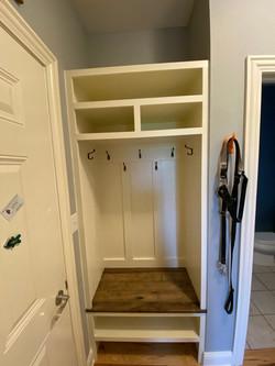 Custom hallway built in
