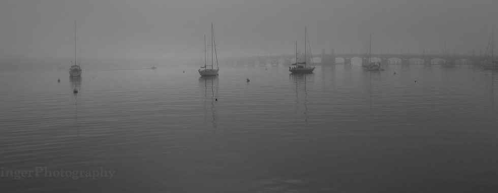 Foggy Matanzas River