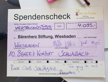 Bärenherz Benefizkonzert 2019