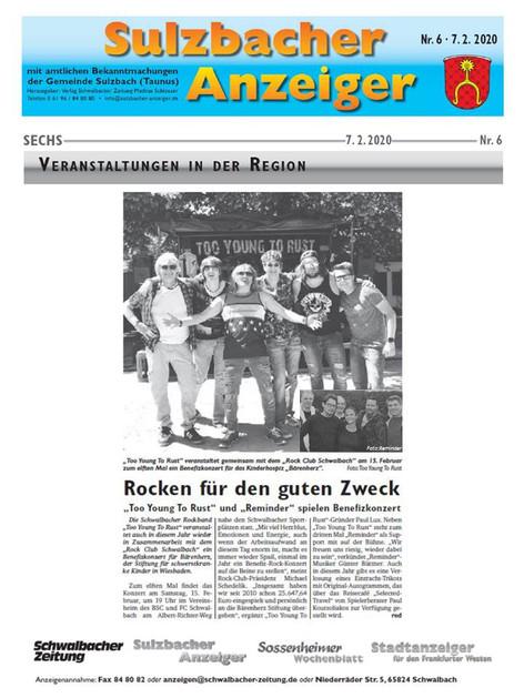 Sulzbacher Anzeiger 02.07.2020