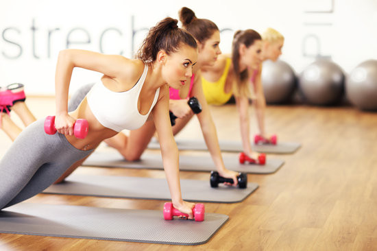Calorie Crushing Fitness Classes!s!