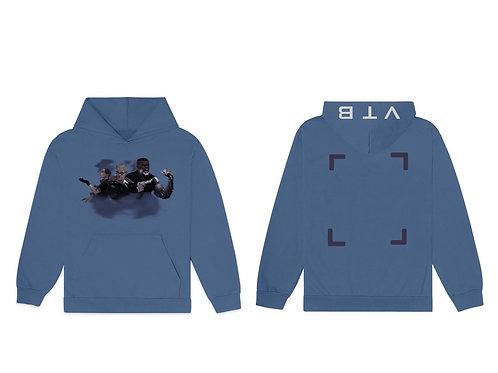 Blue 2077 hoodie