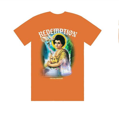 Orange REDEMPTION tee