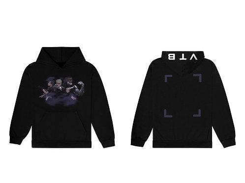 Black 2077 hoodie