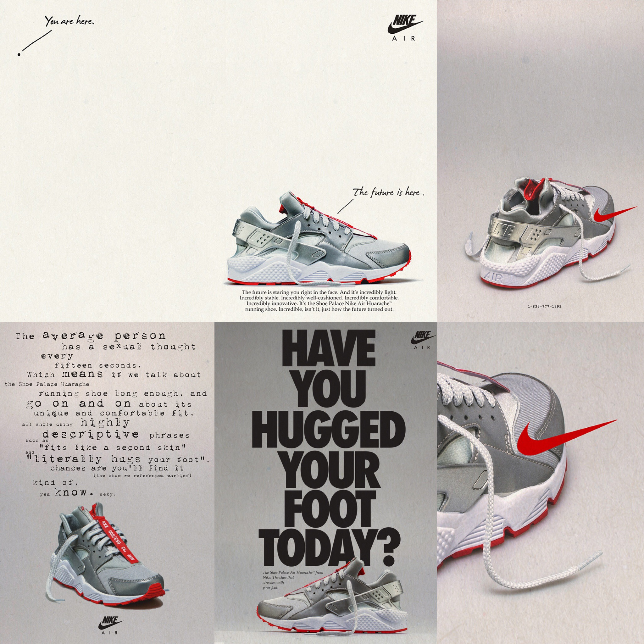 6561fdbb376 Shoe Palace Continues 25th Anniversary With Nike Air Huarache Zip  Collaboration
