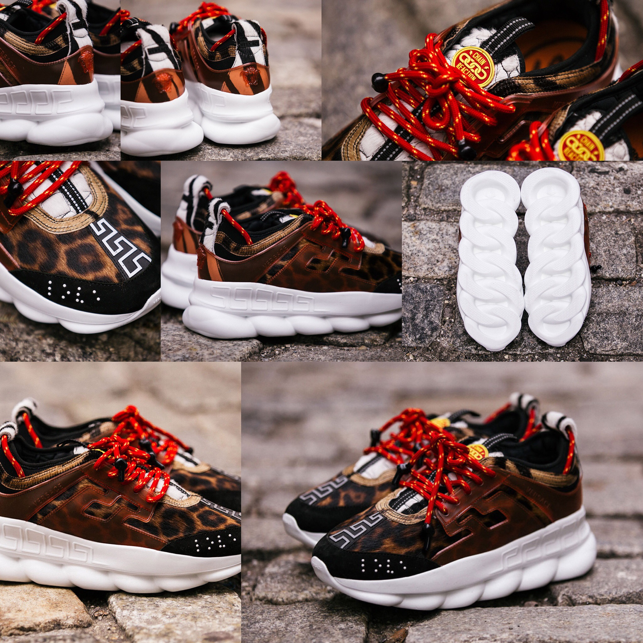 """a783b022e7af7 Look At The 2Chainz x Versace """"Chain Reaction"""" Shoe"""
