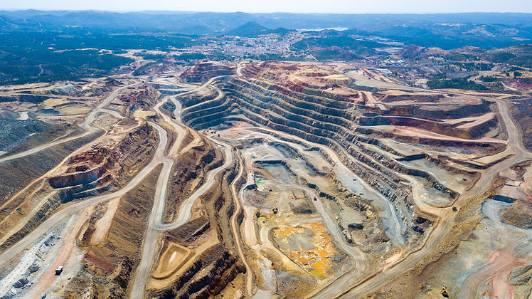 This mine is located in Riotinto, Huelva