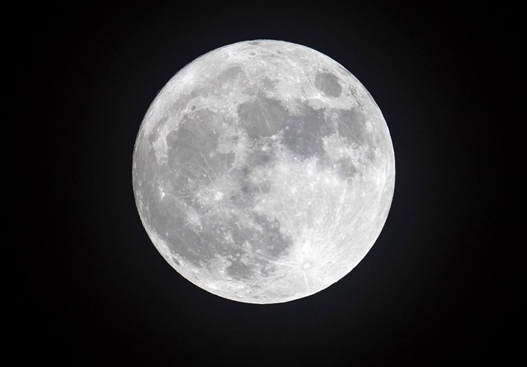 Moon - Earth's natural satellite
