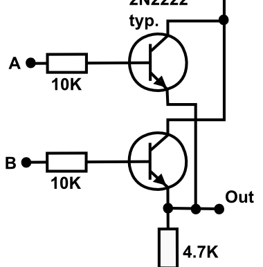 OR Gate using Transistor