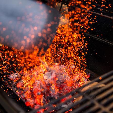 fuego asador
