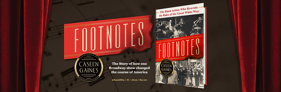Footnotes by Caseen Gaines