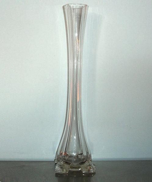 Vintage vase en verre soufflé