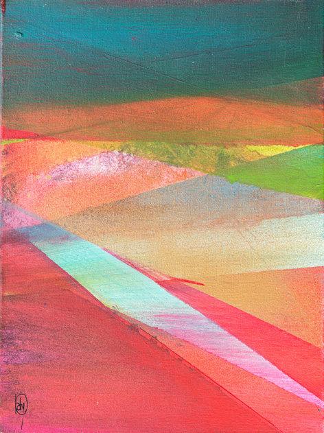 champs colorés