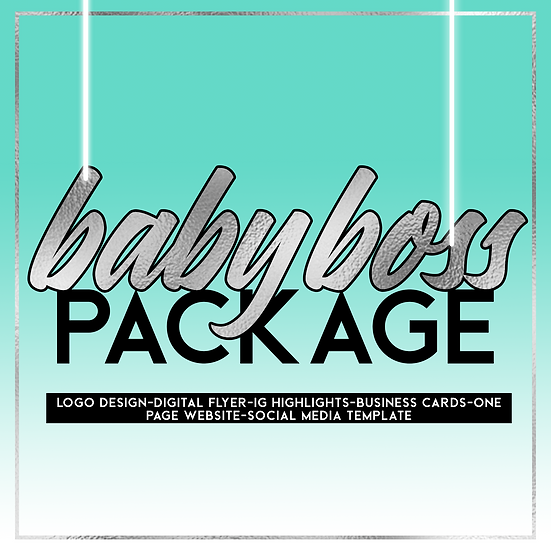 Baby Boss Packaging