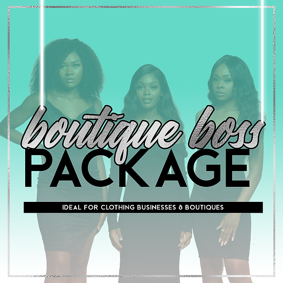 Boutique Boss Package