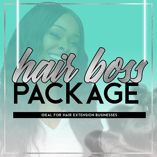 Hair Boss Package