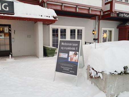 God jul  og Godt nyttår til dere kunder i Hønefoss og Beitostølen!!!