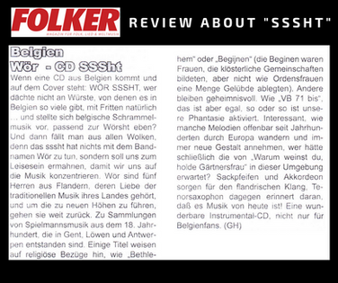 review Folker Magazine (DE) - july 2018