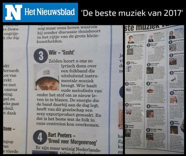 Het Nieuwsblad (B) - 'Beste muziek van 2017'