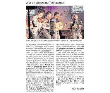 live review festival Les Traversées de Tatihou