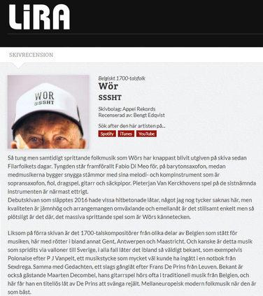 review Lira MusikMagasin (SE)