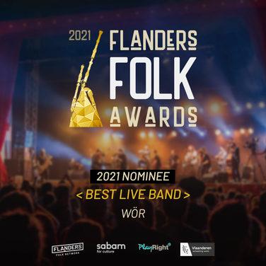 Wör Flanders Folk Awards best live band.jpg