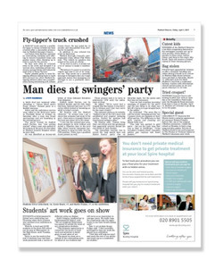 NEWS: Man dies at sex party