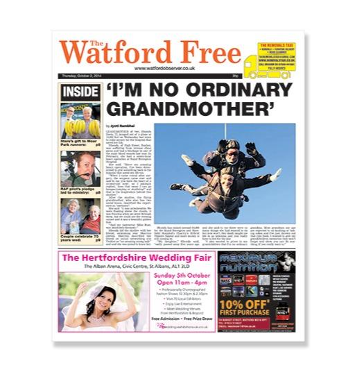 NEWS: Skydiving grandmother