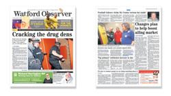 NEWS: Drug raids in Watford