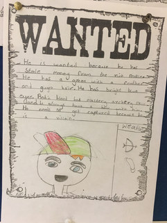 Robin Hood Wanted Posters