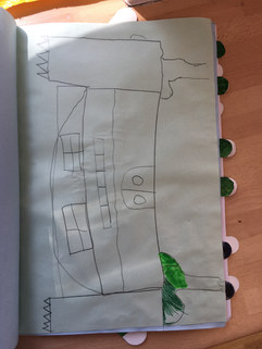 Spook Ville, written by the year 3's