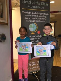 Easter Project Winners