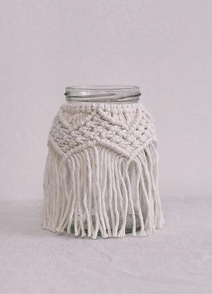 Petit vase écru