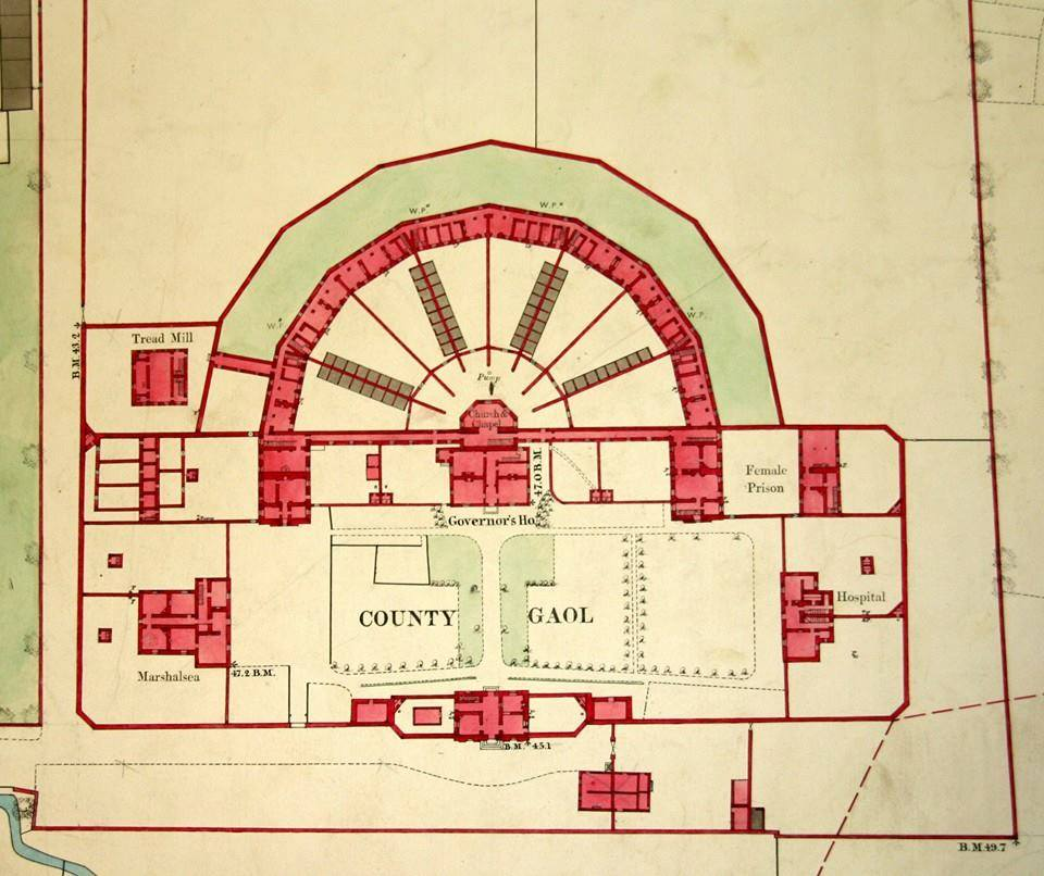 Gaol Floor Plan