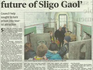 Friends of Sligo Gaol presentation to Sligo County Coucil