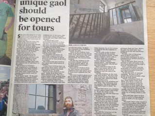 Restoring Sligo Gaol's windows - Nick Taylor