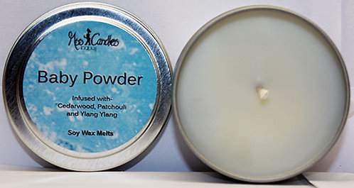 Baby Powder 4oz Candle