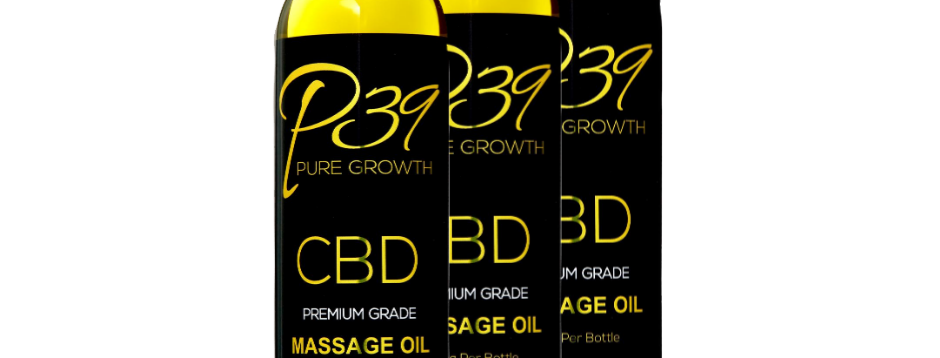 CBD Massage Oil 20mg - 1000mg