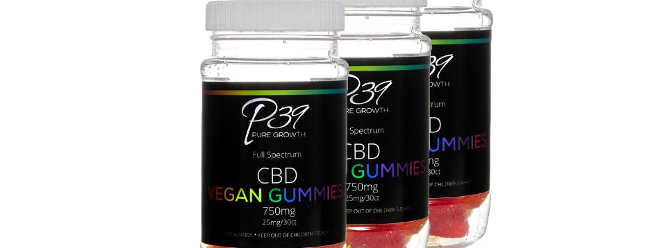 Full Spectrum Hemp Extracted CBD Vegan Gummies 750mg