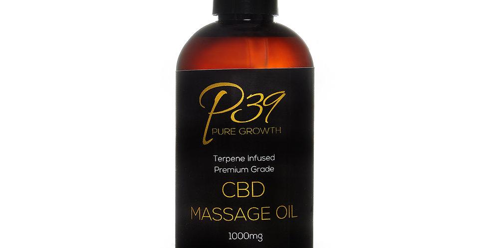 Isolate Hemp Extracted CBD - Massage Oil 1000mg